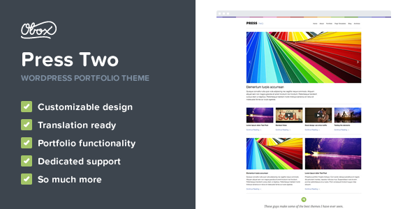 Press Two - WordPress Magazine Theme