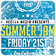 Summer Jam - Flyer - GraphicRiver Item for Sale