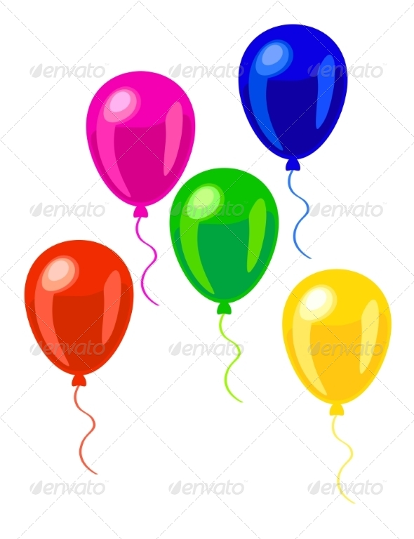 GraphicRiver Balloons 7499780