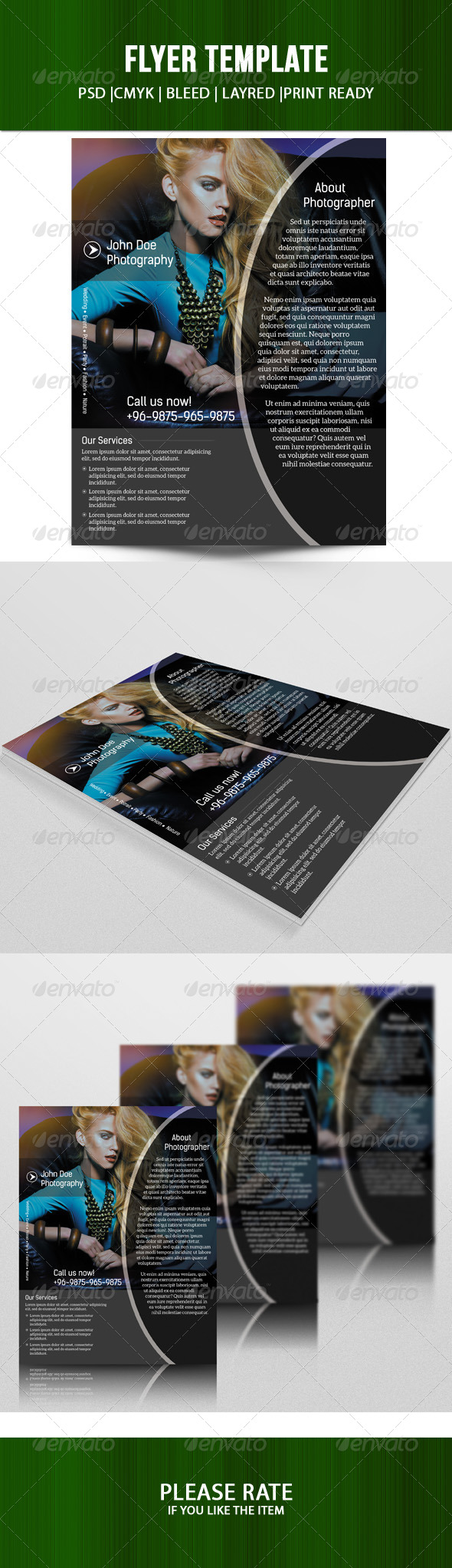 GraphicRiver Business Flyer Template 7500049