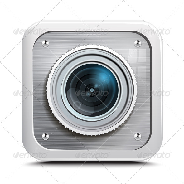 GraphicRiver Camera Icon 7500211