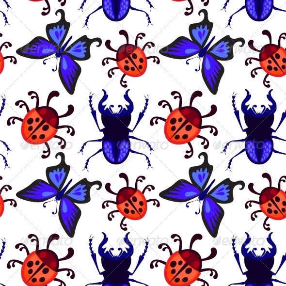 GraphicRiver Bug Pattern 7500209
