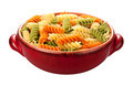 Rainbow Rotini Pasta isolated - PhotoDune Item for Sale