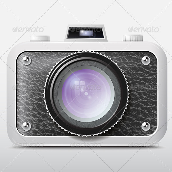 GraphicRiver Camera Icon Black 7500882