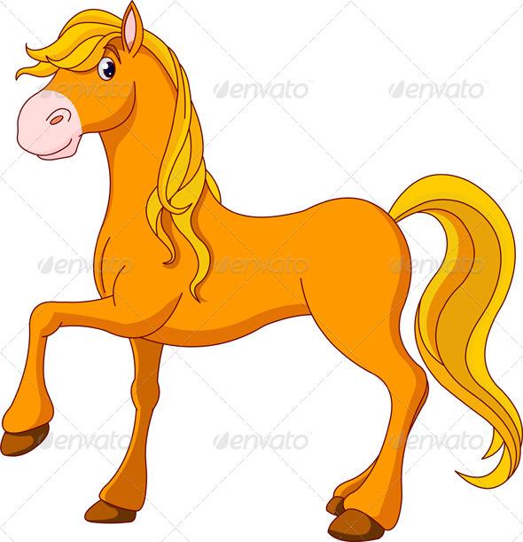 GraphicRiver Golden Horse 7501430