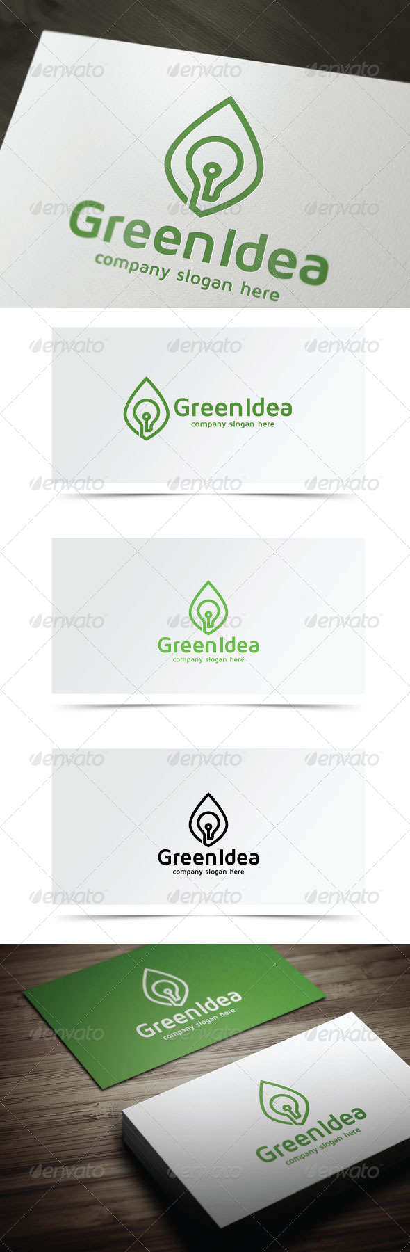 GraphicRiver Green Idea 7501808