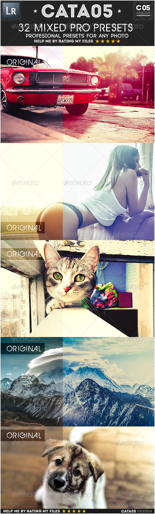 GraphicRiver 32 Mixed Pro Presets 7502091