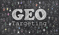 Geotargeting On Blackboard - PhotoDune Item for Sale