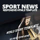 Sport News Responsive HTML5 Template - ThemeForest Item for Sale