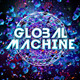 "Futuristic Electronic Music Flyer ""Global Machine"" - GraphicRiver Item for Sale"