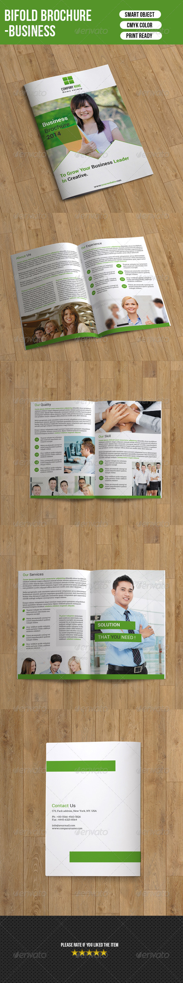 GraphicRiver Business Brochure 7505153
