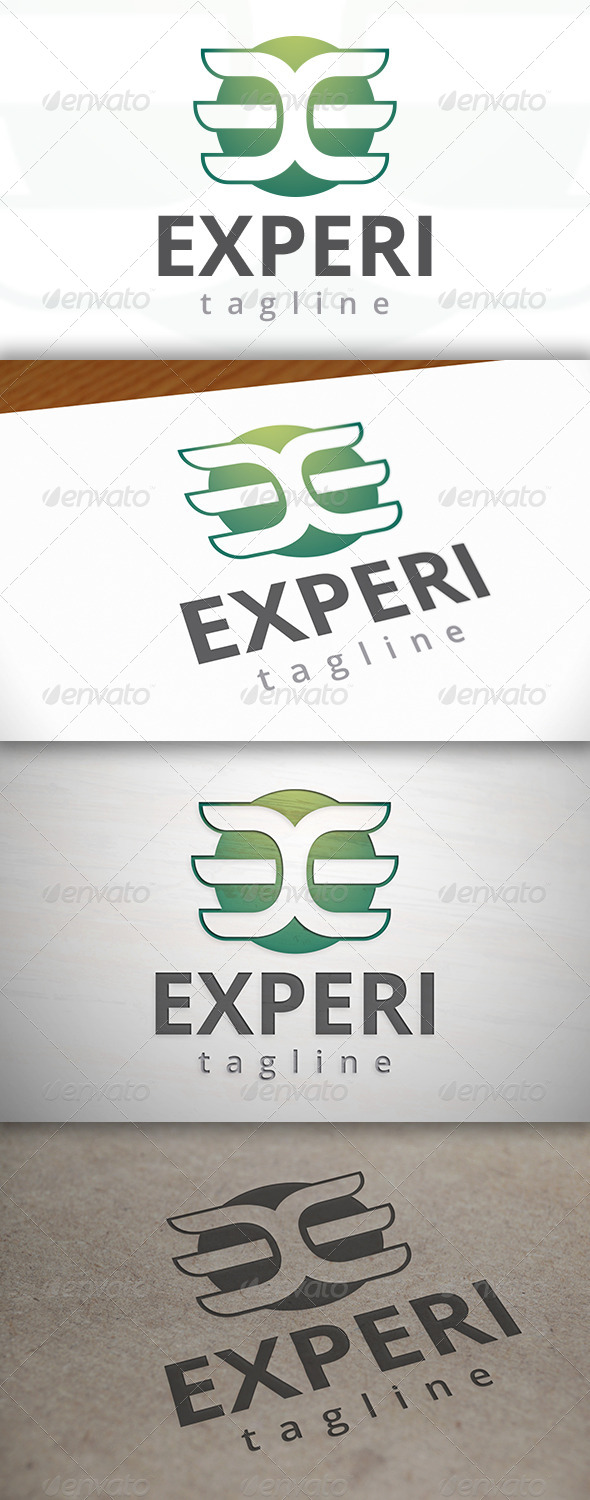GraphicRiver Experience Logo 7505443