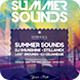 Summer Sounds Flyer - GraphicRiver Item for Sale
