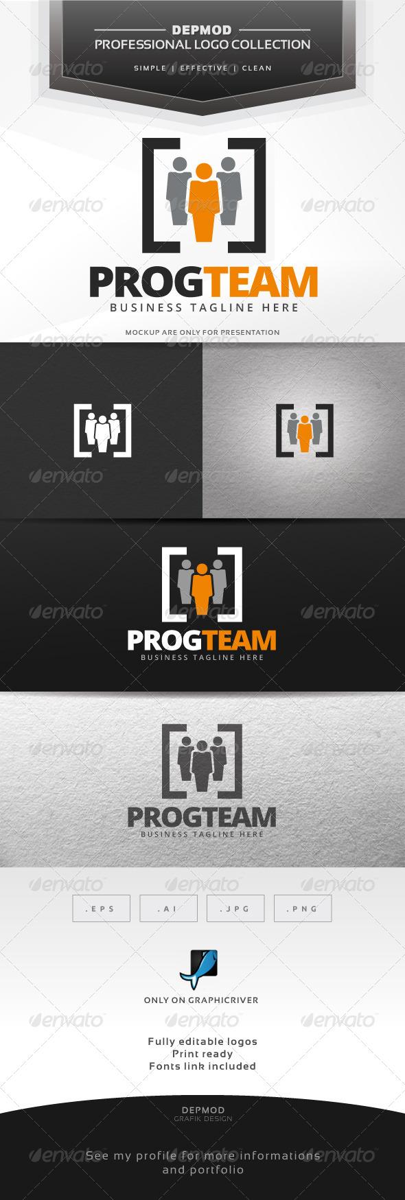 GraphicRiver Prog Team Logo 7506767