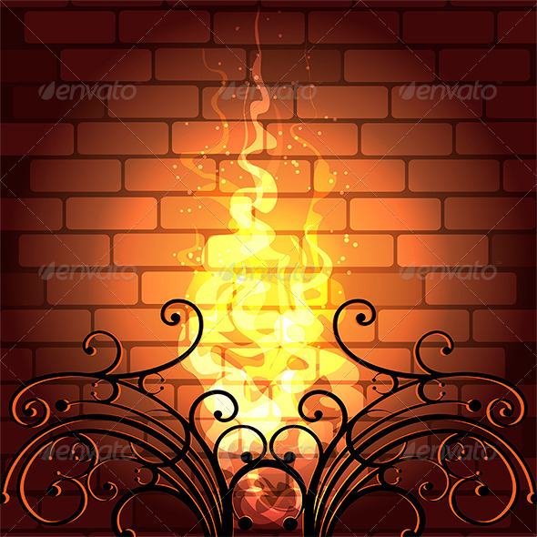 GraphicRiver Fireplace 7505788