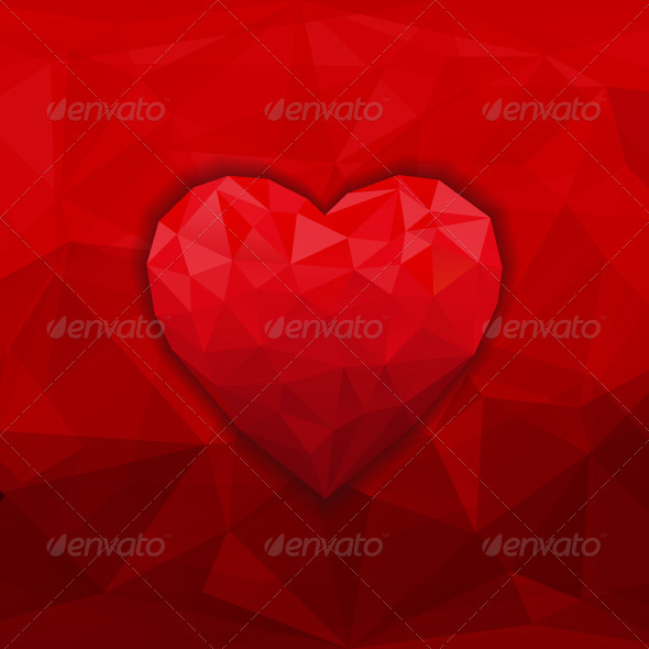 GraphicRiver Heart Background 7507326