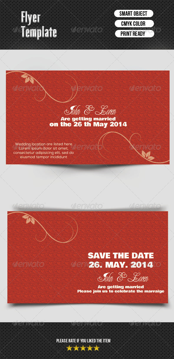 GraphicRiver Save The Date Card 7507610