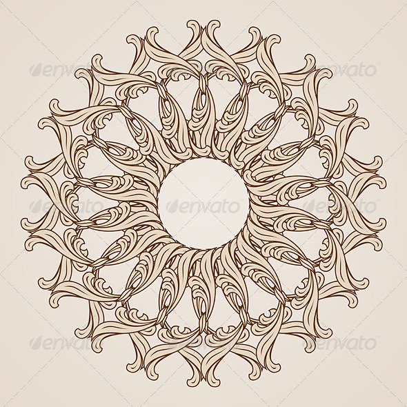 GraphicRiver Floral Pattern 7509496