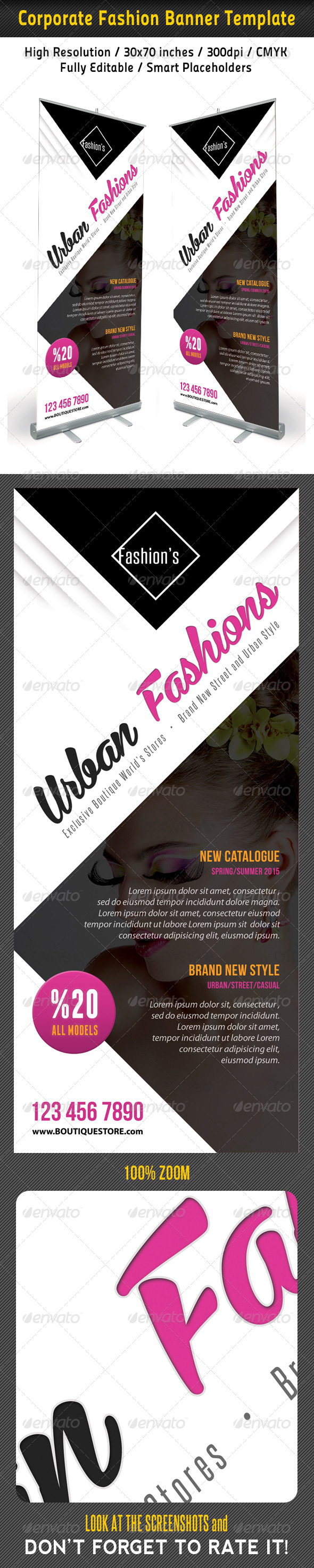GraphicRiver Fashion Multipurpose Banner Template 45 7510046