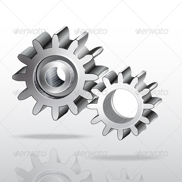 GraphicRiver Metal Gear Wheels 7510418