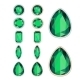 Set of Five Forms of Emerald - GraphicRiver Item for Sale