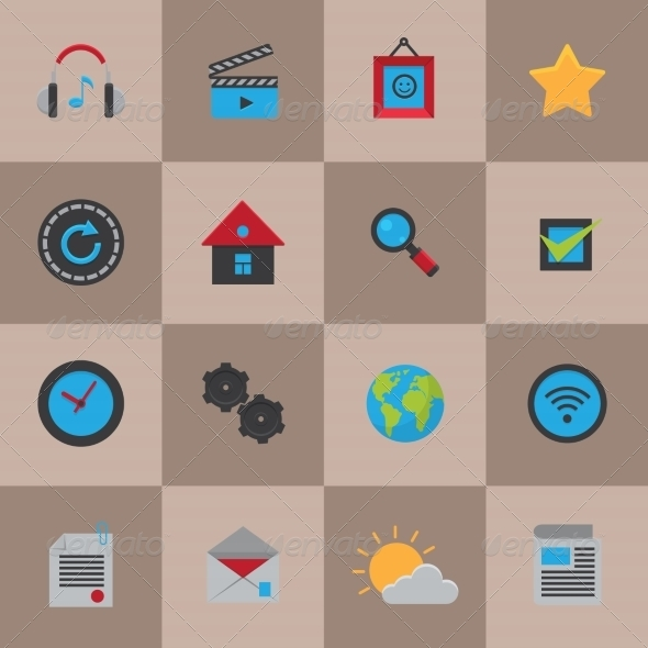 GraphicRiver Mobile Social Media Icons 7511163