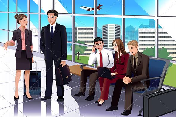 GraphicRiver Airport 7511787
