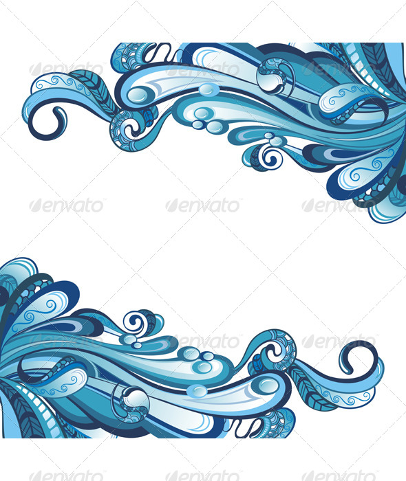 GraphicRiver Water Card 7512559