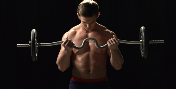 VideoHive How to Do Weightlifting 7512568