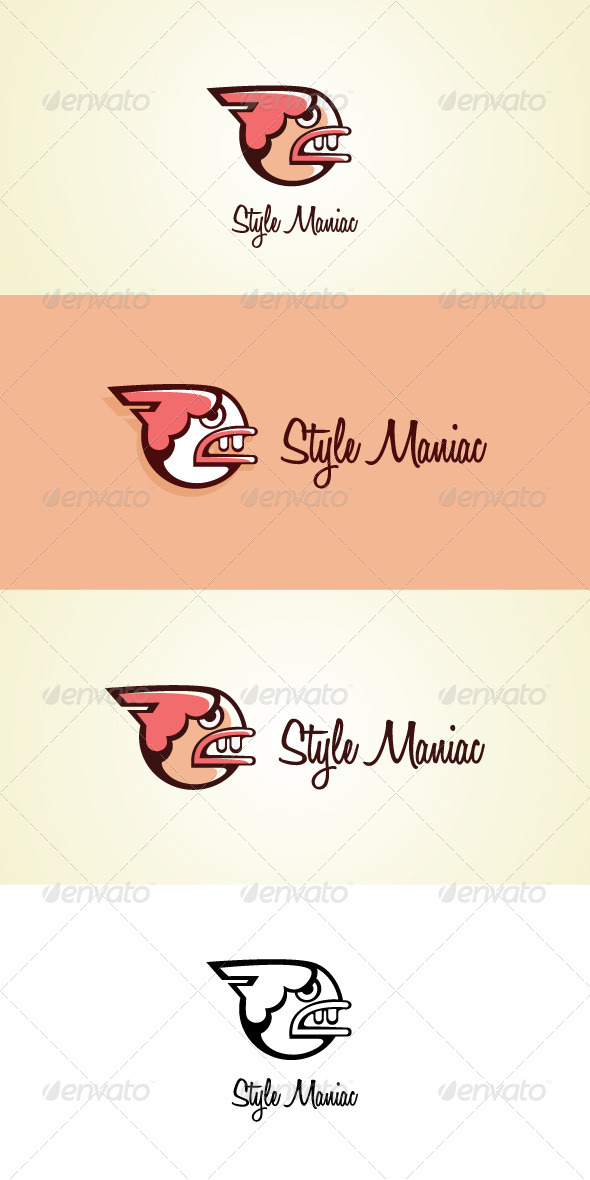 GraphicRiver Style Moniac Stock Logo Template 7512729