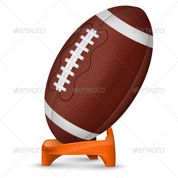 GraphicRiver American Football Ball 7513190