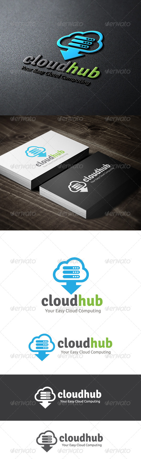 GraphicRiver Cloud Hub 7513268