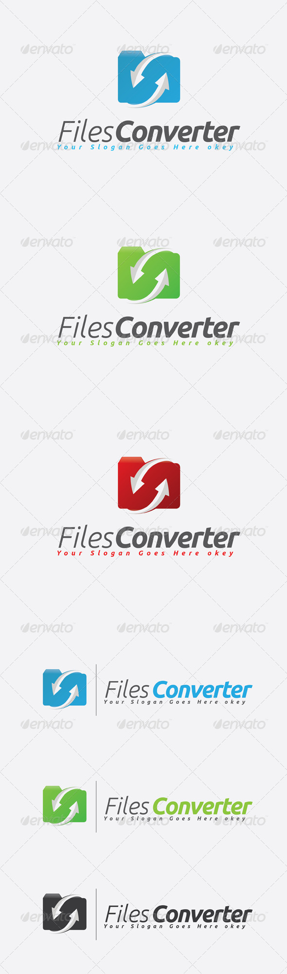 GraphicRiver Files Converter Logo 7514048