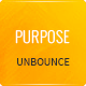 Purpose - Non-Profit Unbounce Template - ThemeForest Item for Sale