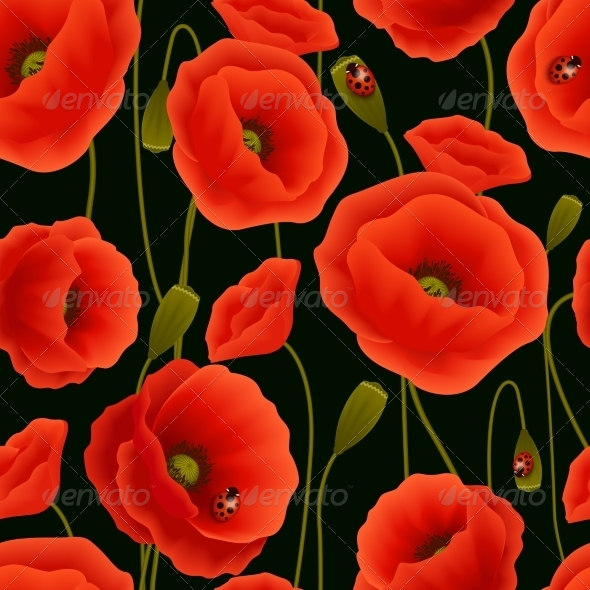 GraphicRiver Poppy Pattern 7514282
