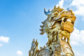 Dragon statue in Vietnam as symbol and myth. - PhotoDune Item for Sale