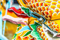 Multicolored face of vietnamese dragon. - PhotoDune Item for Sale