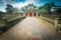 Beautiful gate to Citadel of Hue in Vietnam, Asia. - PhotoDune Item for Sale