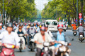 Busy street in Ho Chi Minh City. Vietnam. - PhotoDune Item for Sale