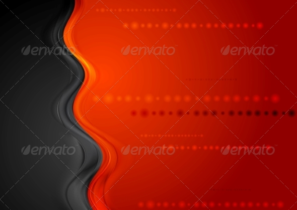 GraphicRiver Wave Background 7516980