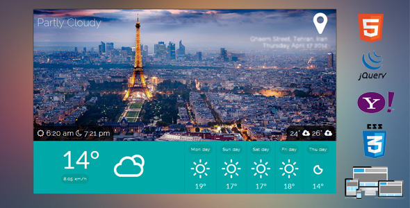 CodeCanyon geolocation weather 7517325