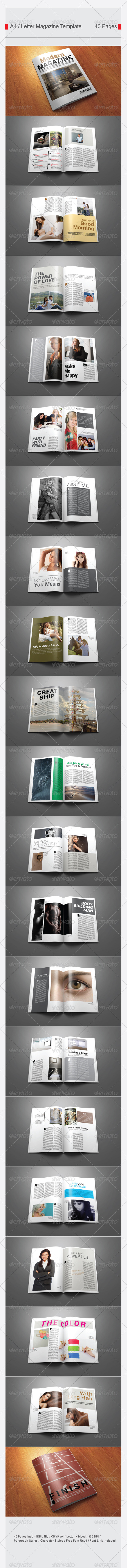 GraphicRiver SImple Magazine 7519859