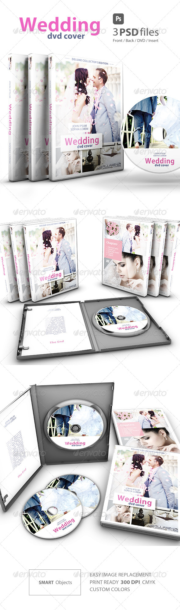GraphicRiver Wedding DVD Cover vol.2 7517563