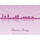 Baton Rouge Skyline  - GraphicRiver Item for Sale
