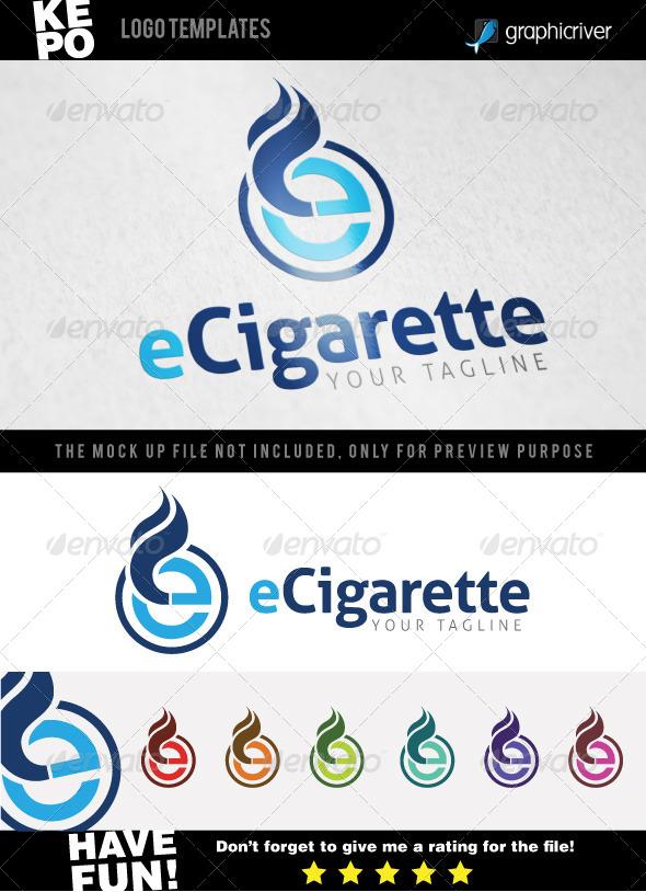 GraphicRiver eCigarette Logo Templates 7520575