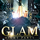 Glam Night Party Flyer - GraphicRiver Item for Sale