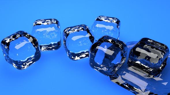 3DOcean Ice cubes 7510734