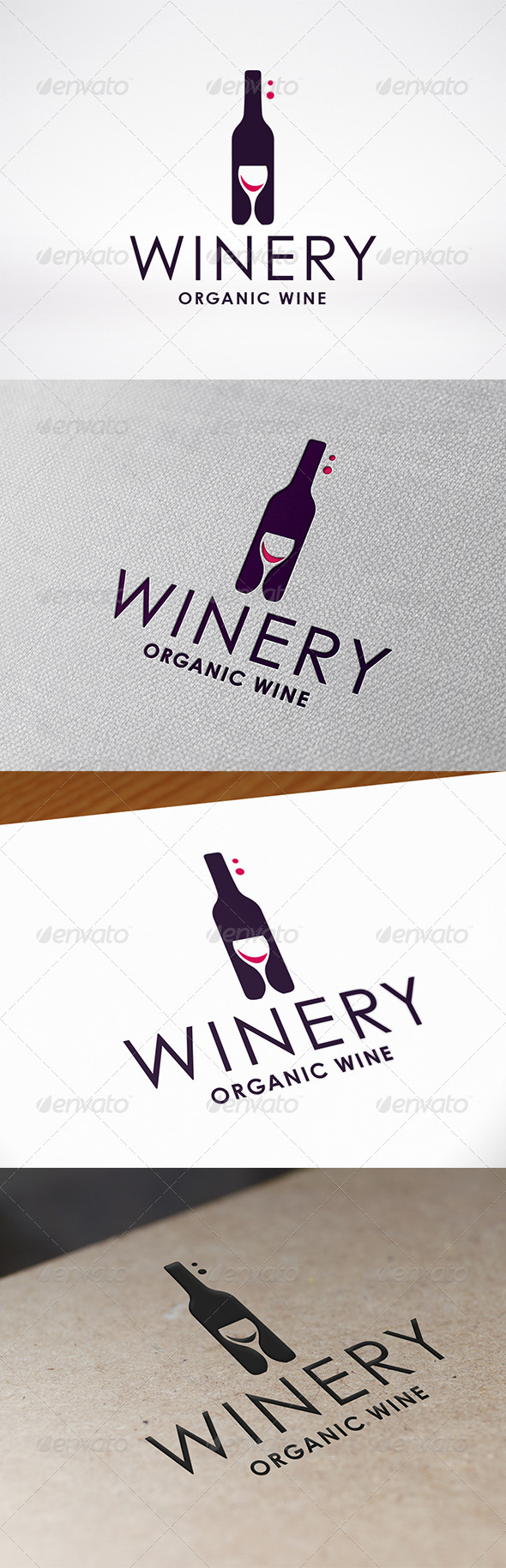 GraphicRiver Winery Logo Template 7521764