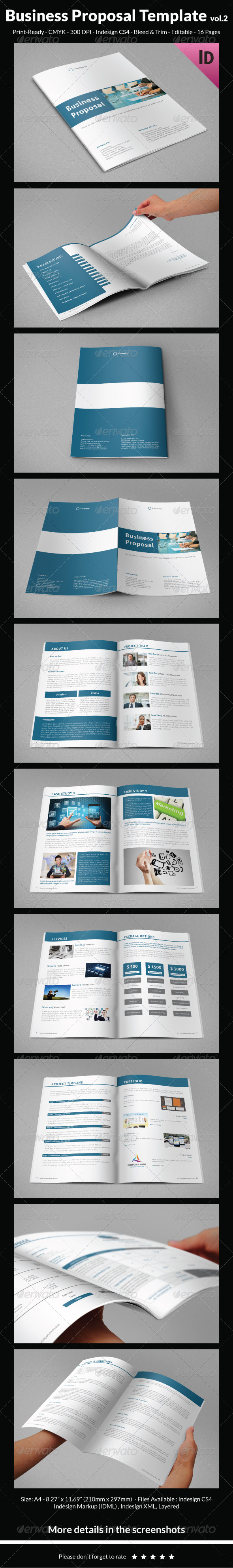 GraphicRiver Business Proposal Template vol.2 7521766