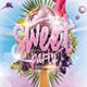 Sweet Party  Flyer/Poster - GraphicRiver Item for Sale